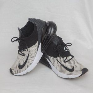 Nike Air Max 270 Flyknit running shoes Size 8